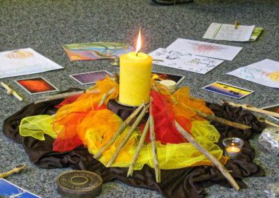 Natur Pur Fortbildung Element Feuer Didaktische Mitte