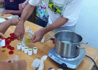 Natur Pur Wildkräuterkurse Salben kochen