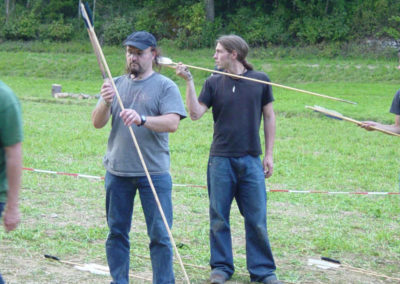 Natur Pur Wildniscamp Steinzeitliches Jagen mit Atlatl
